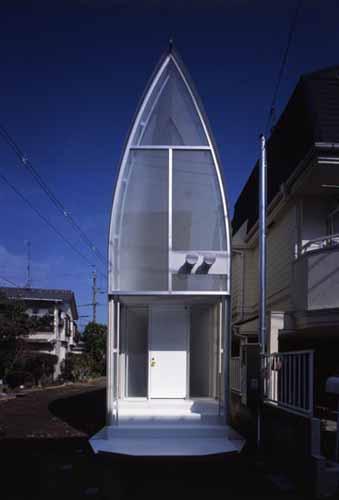 Atelier tekuto lucky drops for Small japanese house design in tokyo by architect yasuhiro yamashita